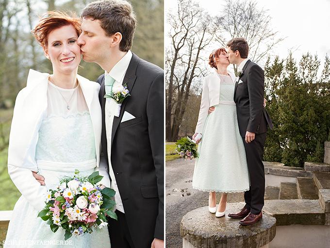 Brautkleid 50er-Jahre-Stil