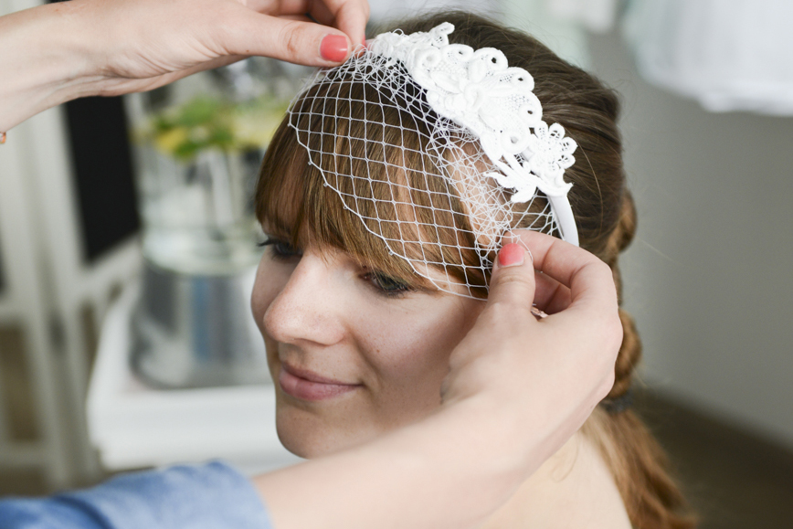 Fascinator Headpiece Braut
